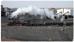 Industrial Steam Lives On (Welsh Gold) Tags: industrial steam js8167 coal train sandaoling xinjiang province china