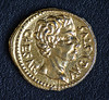 Caesar Augustus, 27 BC - AD 14 (Phil Bagnall) Tags: coin gold roman rome 1stcenturyad latin emperor