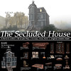 22769 - The Secluded House for The Arcade : September 2017 (manuel ormidale) Tags: house meshbuild groundhouse victorian spooky thearcade arcade gachaevent gothic armchair couch bookshelf burlwood salon salontable salonchair saloncouch salonfurniture indoorfurniture indoordecoration decoration skull portrait ghost ghosthouse pacopooley gacha steampunk gaslight feather writingfeather 22769 22769~bauwerk console gachagame