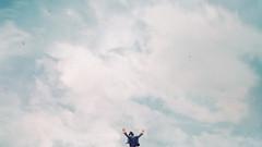 409 (Katrina Yu) Tags: selfportrait negativespace sky freedom mood art conceptual creative concept cinematic clouds