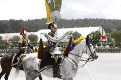 CEREMONIA MILITAR EN CONMEMORACIÓN A LOS 208 AÑOS DE INDEPENDENCIA DEL ECUADOR
