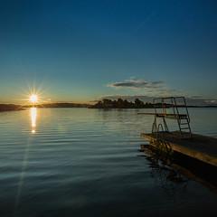 Springboard (thomasgiegerich) Tags: norway grimstad norwegen sunrise sonnenaufgang
