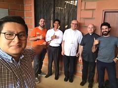 Visita al obispo auxiliar de Guayaquil