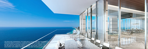 Turnberry Ocean Club-Sunny Isles Beach-View from balcony-