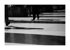 (idasalminen) Tags: viadelcorso rome italy shadow bw film filmphotography canoneos500n kodaktmax400