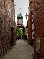 East gate clock (Michal Hajek) Tags: nikon d5500 sigma1020mm chester clock