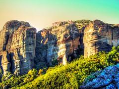 Metéora, Greece (mmalinov116) Tags: meteora greece гърция метеора μετέωρα monastery rock high highly unesco hills thessaly europe европа