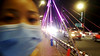 Memory of night (Roving I) Tags: hazy faces facemasks eyes bridges lighting nightlife danang vietnam impressions impressionistic