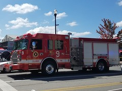 Engine 9 (Central Ohio Emergency Response) Tags: columbus ohio fire engine pumper spartan