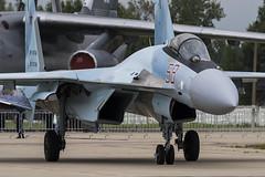 Sukhoi Su-35S - 22 (NickJ 1972) Tags: kubinka army 2017 airshow aviation falconsofrussia sukhoi su35 flanker rf81746 58 red