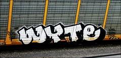 (timetomakethepasta) Tags: wyte vda bad freight train graffiti art autorack benching selkirk new york photography