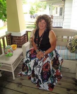 A Porch, A Girl, A Summer Day