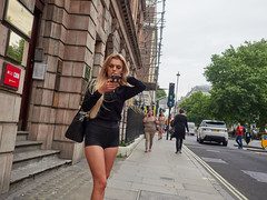 20170811T15-58-32Z-_8110125 (fitzrovialitter) Tags: england gbr geo:lat=5151671050 geo:lon=014629100 geotagged oxfordcircus unitedkingdom girl peterfoster fitzrovialitter rubbish litter dumping flytipping trash garbage urban street environment london streetphotography documentary authenticstreet captureone littergram geosetter exiftool olympusem1markii mzuiko 1240mmpro