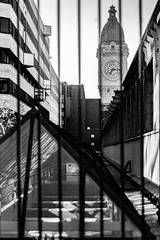 prisoner off time (Rudy Pilarski) Tags: paris gare de lyon architecture architectura nb bw horloge france nikon best off flickr tamron d7100 2470 city ville ciudad line structure impretion impresive sensation