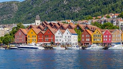 Bergen Waterfront. Bergen, Norway (mtm2935) Tags: westernnorway architecture water waterfront bergen hordaland norway