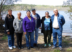 Rappahannock Indian tribal leaders