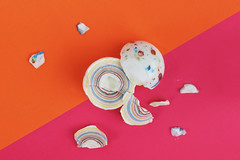 Week 15 - Artistic: Hard (Jawbroken) (Ben Aerssen) Tags: jawbreaker broken breaker jaw colourful pieces candy hard sphere orange pink blue yellow red white purple dogwood52 dogwood2017 dogwood2017week15 smashed cracked stilllife colour color colorful fun