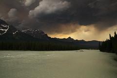 Thunder Storm (Kristian Francke) Tags: jasper national park outdoors storm thunder landscape dusk sunset pentax nature