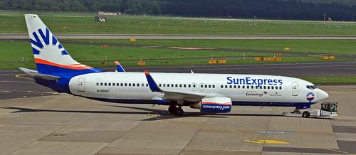 SunExpress / Boeing 737-86N / D-ASXC