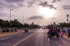 An evening at Raj Path, New Delhi (Mohan.Singh) Tags: rashtrapatibhawan new delhi
