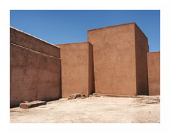 Walls (mathieu.forcier) Tags: architecture building geometry simple banal emptiness empty minimalism minimal morocco facade wall
