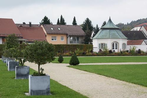 Prälatengarten am Kloster Metten