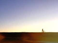 El Morro (tropeone) Tags: sunset grass field bicycle cycling cycler caribbean sanjuan puertorico elmorro sky people usa