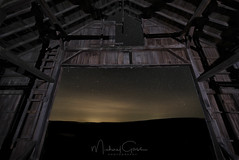 A view from inside (NikonDigifan) Tags: bigdipper stars astrophotography nightphotography lightpainting lightpolution palouse palousehills agriculture wheat rural barn dilapidated wideangle niksoftware nikond750 colorefexpro tamronlenses tamron tamron1530 mikegassphotography