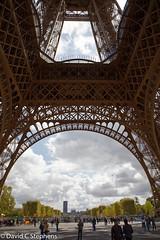 Under The Eiffel Tower (dcstep) Tags: n7a1137dxo paris îledefrance france fr vikingcruises allrightsreserved copyright2017davidcstephens dxoopticspro1142 vacation travel