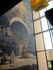 IMG_9165 (Autistic Reality) Tags: acosmicview acosmicviewmural painting mural robertmccall art interior inside indoors museum usa us dc america si smithsonian institution smithsonianinstitution washingtondc washington district columbia districtofcolumbia unitedstatesofamerica unitedstates nationalairandspacemuseum airandspacemuseum nasm sinasm boeingmilestonesofflighthall milestones flight boeing milestonesofflight hall cityofwashington building architecture structure space outerspace
