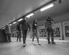 Youths...    Stockholm / Sweden (mikeback-streetphotography) Tags: photo photooftheday photographer p couple streetphotographers stockholm streetphotography sweden streetart streetartistry streetarteverywhere street streetphoto streetlife streetstyle girls monochrome mono woman monochromatic gatufotografi girl blackandwhitephotography blackandwhite black blackwhite bw bnw beautiful urbanwalls urban urbanart city canon nikon mikeback mike back mikebackstreetphotography people subway