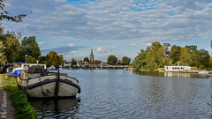 Approaching Marlow from the west 2 (philbarnes4) Tags: marlow buckingham shire england riverthames philbarnes water dslr nikond5500view
