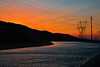 aquaduct (jesselopez.93) Tags: aquaduct sunset mountans river reflection electric towers