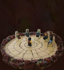 The Council Room (Cab ~) Tags: lego moc foitsop medieval castle tree council