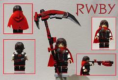 RWBY- Ruby Rose (97legomaniac- Transformers/Customs) Tags: rwby ruby rose lego custom minifigure 97legomaniac volume 4 rooster teeth lindsey jones