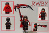 RWBY- Ruby Rose (97legomaniac- Transformers/Customs) Tags: rwby ruby rose lego custom minifigure 97legomaniac volume 4 rooster teeth lindsey jones