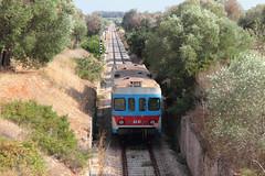 Ultimi 2 km per la Ad 41..... (Ernesto Imperato - Firenze (Italia)) Tags: fse ferroviedelsudest ad ad41 gagliano gaglianodelcapo leuca canon eos 7d salento puglia