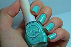 1c 10m 10a # Preferido: Charmosa - Dote. (Raíssa S. (:) Tags: green verde tiffany dote cremoso esmalte unhas nails nailpolish naillacquer nailpainting