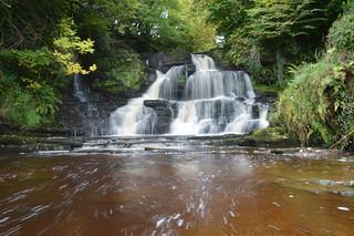 Boho waterfall.
