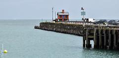 Folkestone harbour arm and house (philbarnes4) Tags: folkestone harbour folkestoneharbour dslr water sea kent england nikond5500 philbarnes