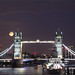 Tower Bridge Moon