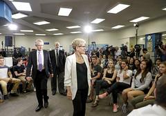 _MG_8157 Premier Kathleen Wynne visited Lawrence Park High School. (Ontario Liberal Caucus) Tags: school highschool colle hunter education students eglingtonlawrence toronto