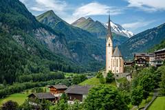 Heiligenblut am Großglockner (Mario Visser) Tags: heiligenblut austria österreich karinthie church mountain grosglockner landscape