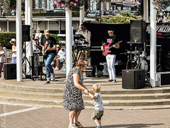 Hyper Active -Don't let the sun go down on me- 3 (philbarnes4) Tags: freeconcert bandstand broadstairs thanet kent england 80srock musicians musicalinstruements family event dancing enjoyment fun bankholiday mother child happy philbarnes dslr nikond5500