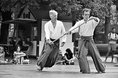 The Way of Aikido I (glarigno) Tags: d610 aikido street toulouse france europe europa personnes people sport sports