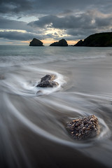 Conglomerate (Des Daly) Tags: conglomerate rock sunset ballydowane hightide waterford seascape coppercoast