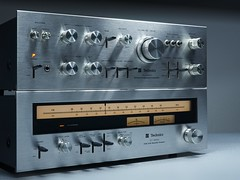 Technics SU/ST 3500 Stereo Amplifier/Tuner (oldsansui) Tags: 1970 1975 1970s audio classic technics stereo amp tuner retro vintage old radio sound hifi design music seventies audiophile analog madeinjapan 70erjahre solidstate 3500