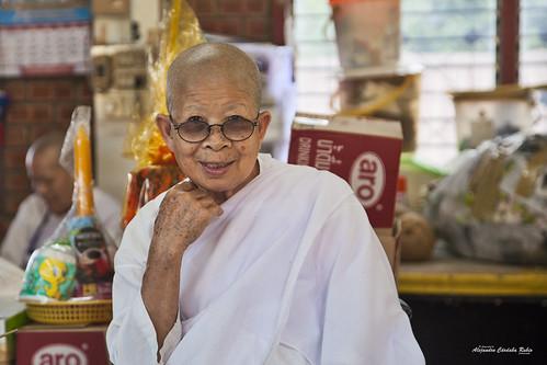 Monje de Wat Phrathat Doi Suthep, Chiang Mai