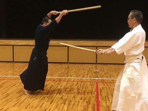 Kurogo Sensei and Kobayashi Senpai
