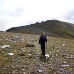 Crossing to Sgurr nan Clach Geala thumbnail